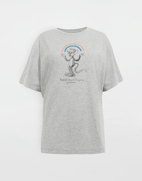 MM6 MAISON MARGIELA Rainbowmaker print T-shirt Short sleeve t-shirt Woman f