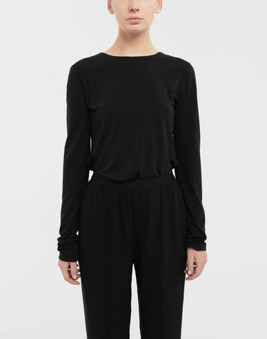 TOPS & TEES Ruched back jersey knit top