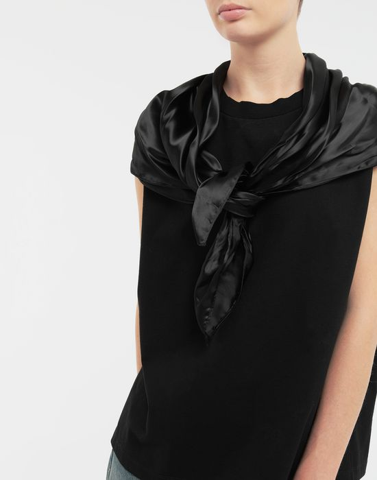 MM6 MAISON MARGIELA Scarf tie sleeveless top Top [*** pickupInStoreShipping_info ***] a