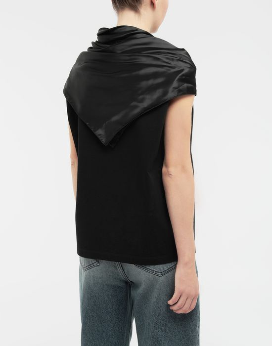 MM6 MAISON MARGIELA Scarf tie sleeveless top Top [*** pickupInStoreShipping_info ***] e
