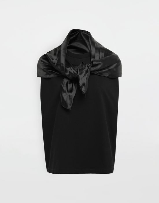 MM6 MAISON MARGIELA Scarf tie sleeveless top Top [*** pickupInStoreShipping_info ***] f