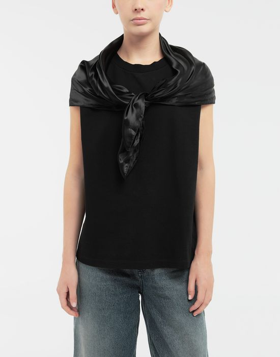 MM6 MAISON MARGIELA Scarf tie sleeveless top Top [*** pickupInStoreShipping_info ***] r