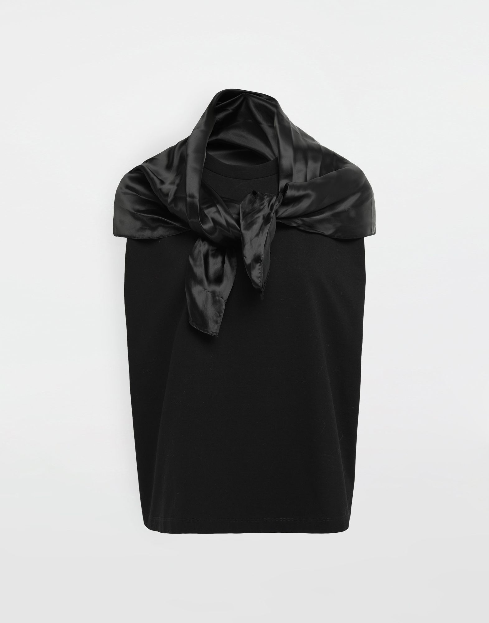 MM6 MAISON MARGIELA Scarf tie sleeveless top Top Woman f