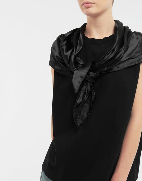 MM6 MAISON MARGIELA Scarf tie sleeveless top Top Woman a