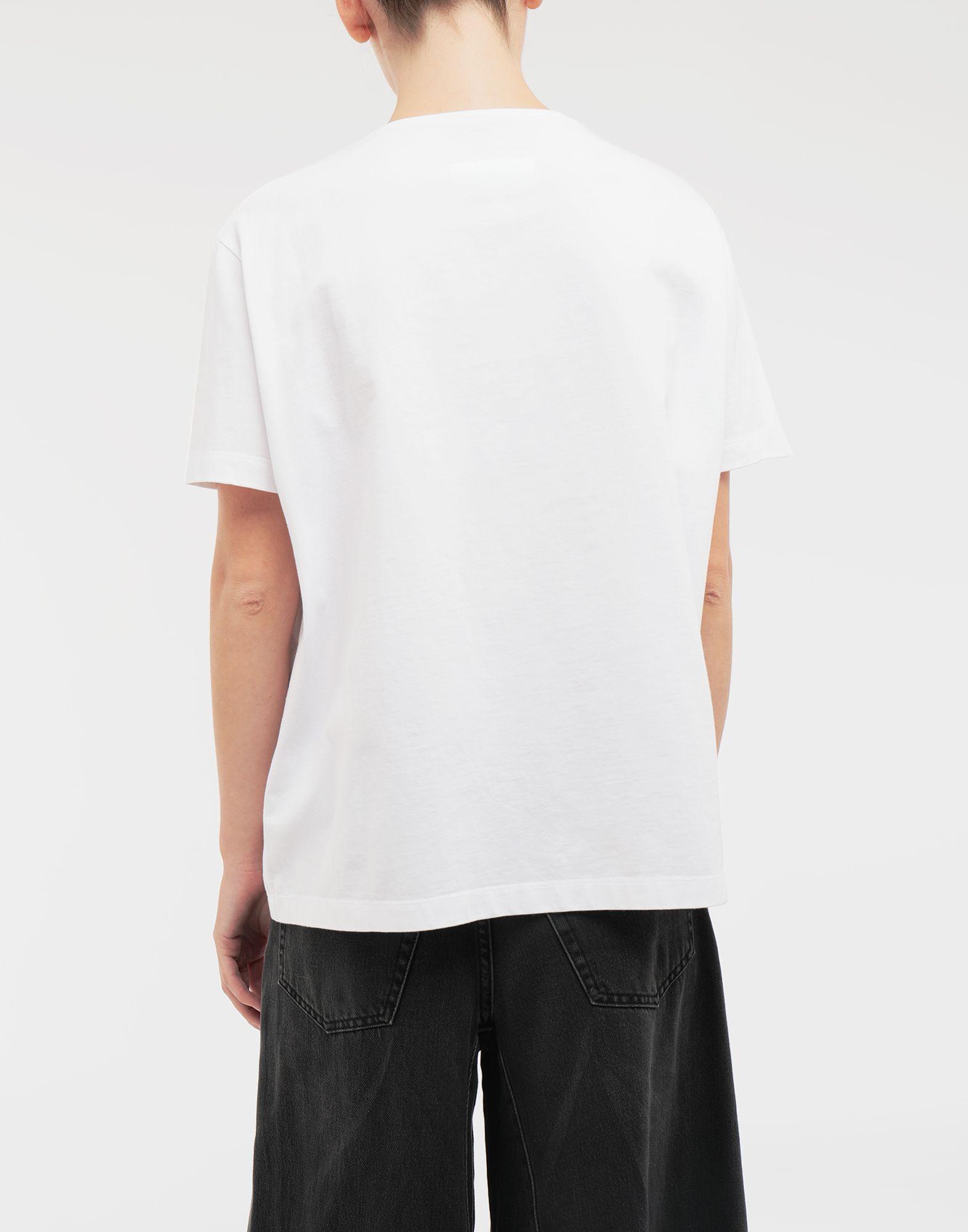 MM6 MAISON MARGIELA Colouring book print T-shirt Short sleeve t-shirt Woman e