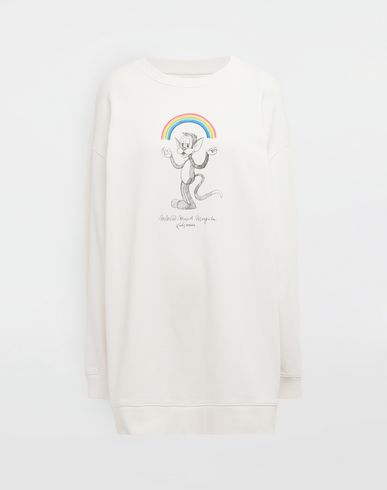 MM6 MAISON MARGIELA Sweatshirt [*** pickupInStoreShipping_info ***] Rainbowmaker print sweatshirt f