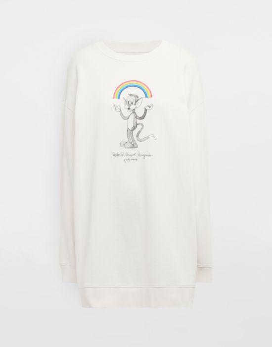 MM6 MAISON MARGIELA Rainbowmaker print sweatshirt Sweatshirt [*** pickupInStoreShipping_info ***] f