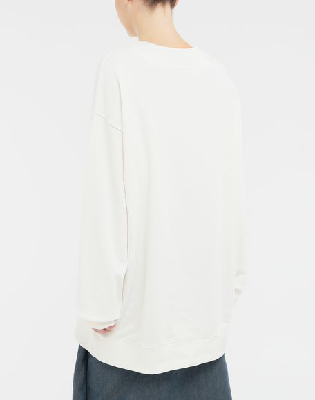 MM6 MAISON MARGIELA Sweat-shirt avec imprimé Rainbowmaker Sweatshirt Femme e