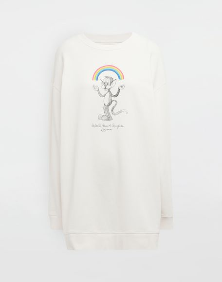 MM6 MAISON MARGIELA Sweat-shirt avec imprimé Rainbowmaker Sweatshirt Femme f