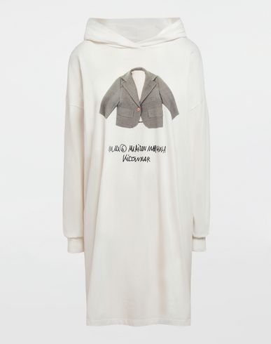MM6 MAISON MARGIELA Long sleeve t-shirt [*** pickupInStoreShipping_info ***] Kidswear print hooded sweatshirt f