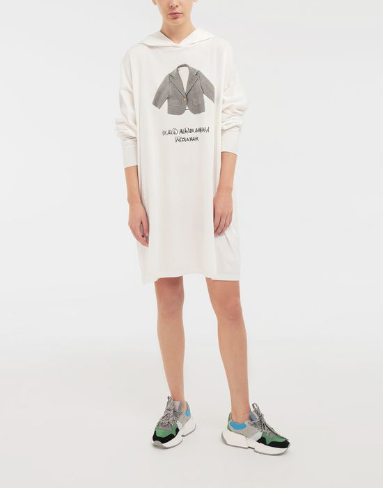 MM6 MAISON MARGIELA Kidswear print hooded sweatshirt Long sleeve t-shirt [*** pickupInStoreShipping_info ***] d