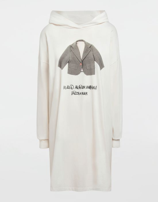 MM6 MAISON MARGIELA Kidswear print hooded sweatshirt Long sleeve t-shirt [*** pickupInStoreShipping_info ***] f