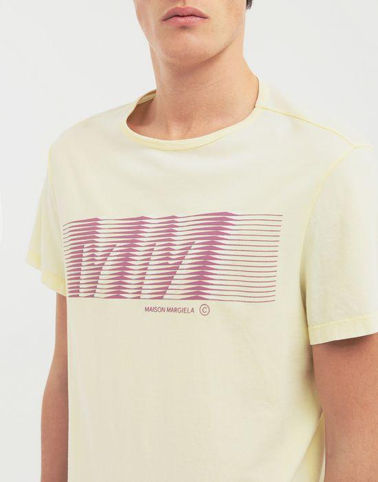 MAISON MARGIELA MM logo print T-shirt Short sleeve t-shirt [*** pickupInStoreShippingNotGuaranteed_info ***] a