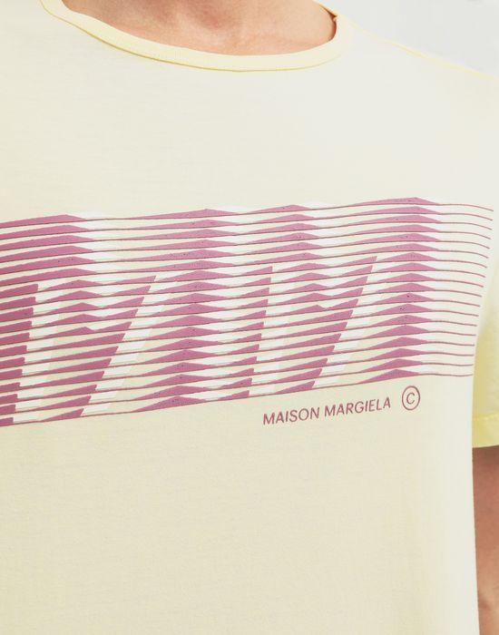MAISON MARGIELA MM logo print T-shirt Short sleeve t-shirt [*** pickupInStoreShippingNotGuaranteed_info ***] b