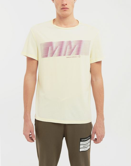 MAISON MARGIELA MM logo print T-shirt Short sleeve t-shirt [*** pickupInStoreShippingNotGuaranteed_info ***] r