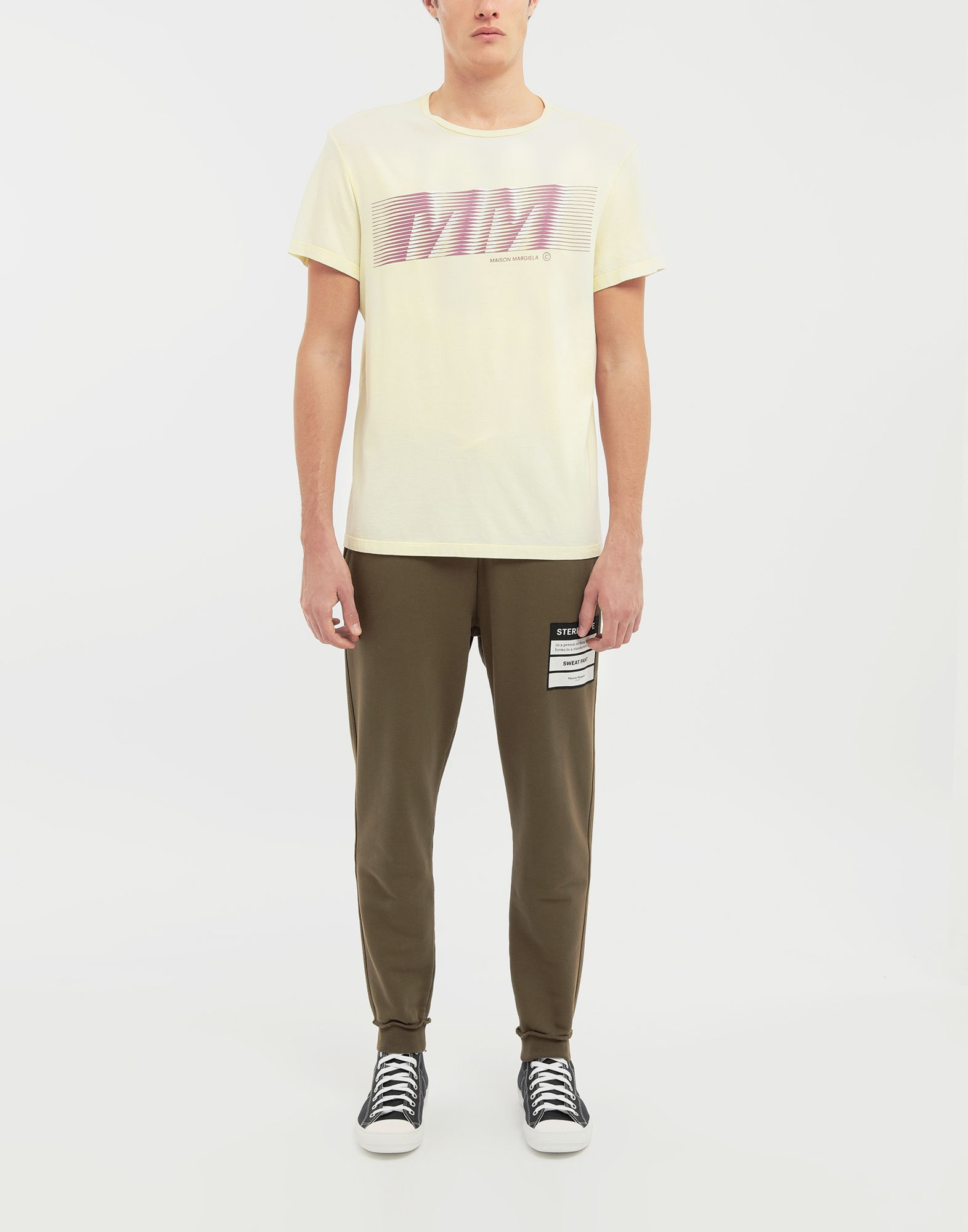MAISON MARGIELA MM logo print T-shirt Short sleeve t-shirt Man d