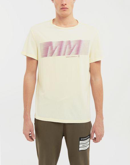 MAISON MARGIELA MM logo print T-shirt Short sleeve t-shirt Man r