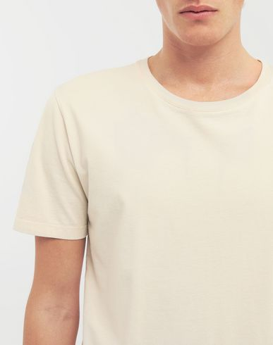 TOPS Classic cotton T-shirt Beige