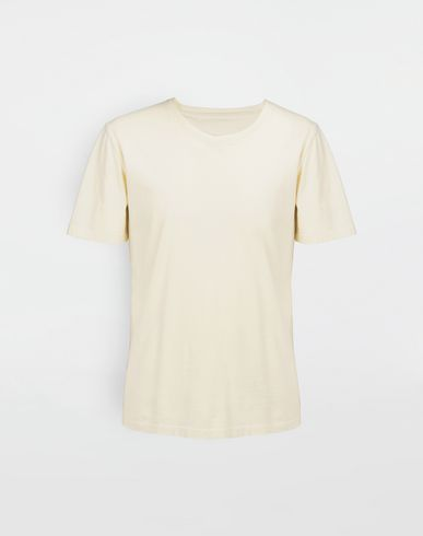 MAISON MARGIELA Short sleeve t-shirt [*** pickupInStoreShippingNotGuaranteed_info ***] Classic cotton T-shirt f