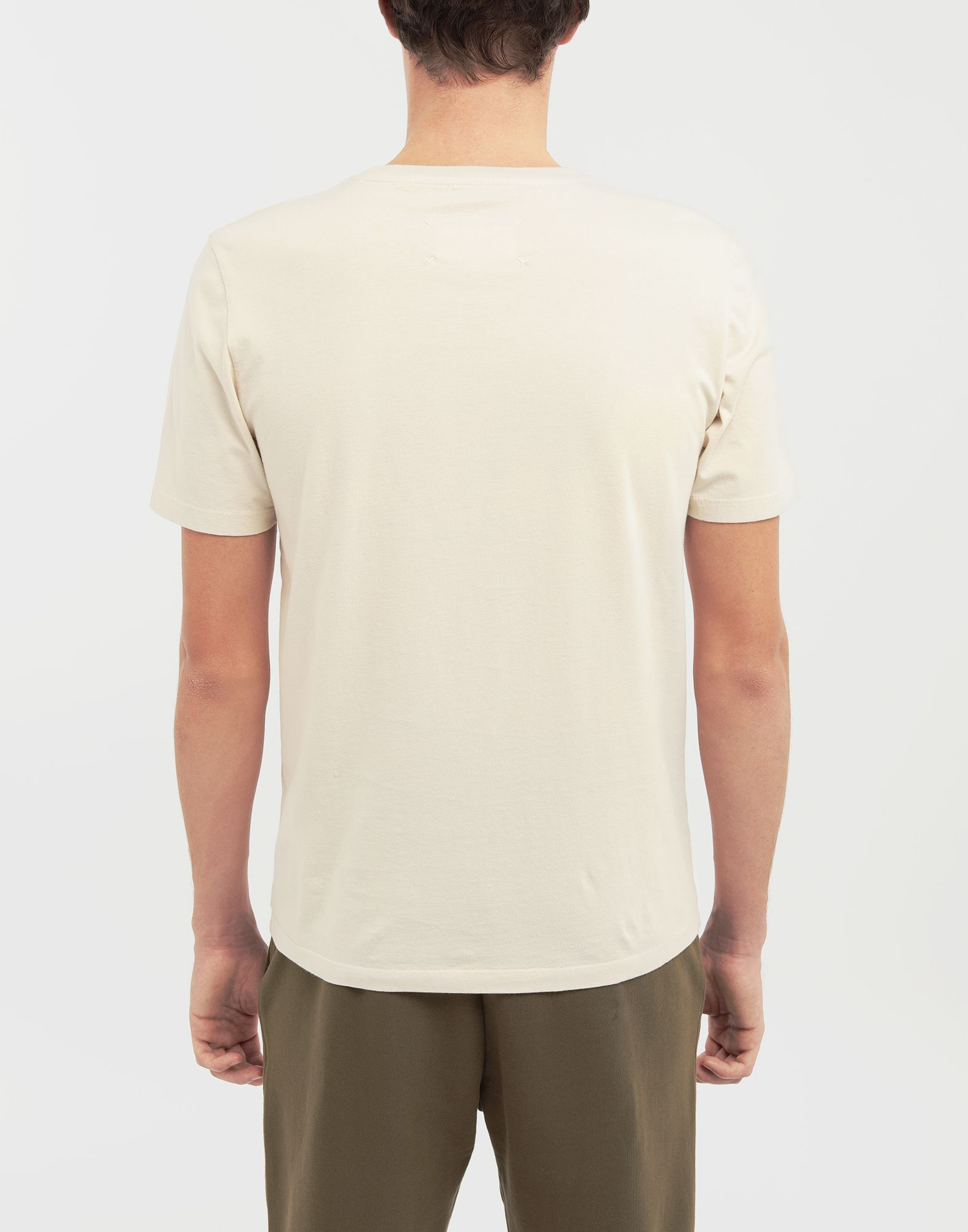 MAISON MARGIELA Classic cotton T-shirt Short sleeve t-shirt Man e