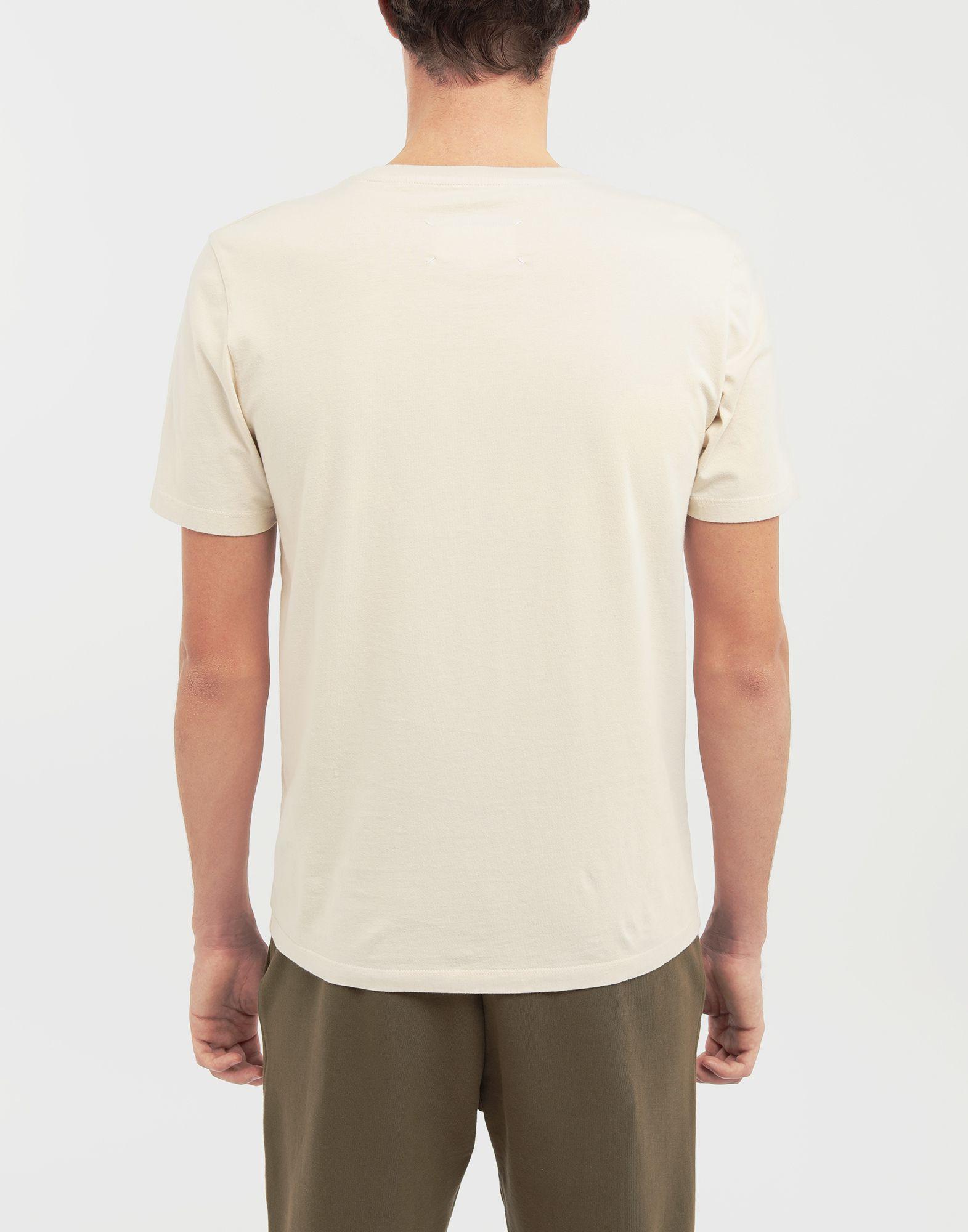 MAISON MARGIELA Camiseta clásica de algodón Camiseta de manga corta Hombre e