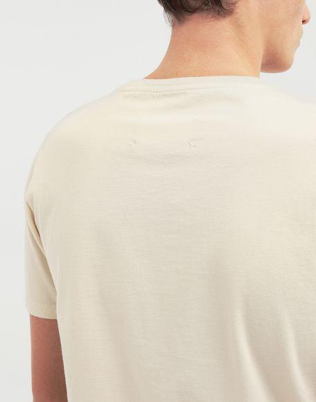 MAISON MARGIELA Camiseta clásica de algodón Camiseta de manga corta Hombre b
