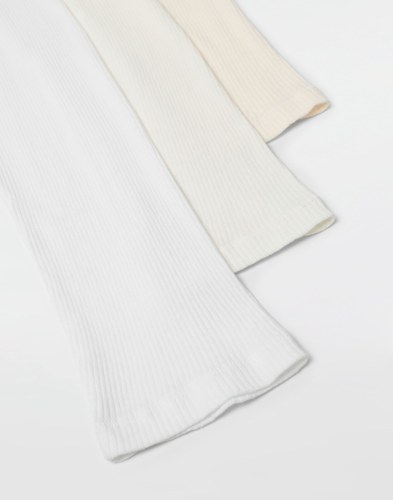MAISON MARGIELA 3-pack Stereotype white T-shirts Long sleeve t-shirt Man e