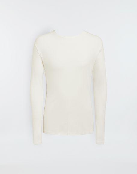 MAISON MARGIELA 3-pack Stereotype white T-shirts Long sleeve t-shirt Man f