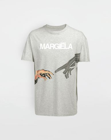 MAISON MARGIELA Graphic logo print T-shirt Short sleeve t-shirt [*** pickupInStoreShippingNotGuaranteed_info ***] f