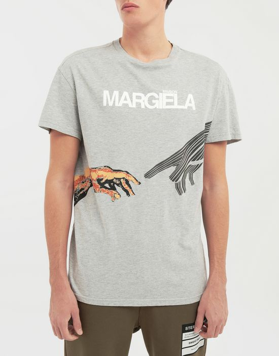 MAISON MARGIELA グラフィック ロゴ プリント Tシャツ T シャツ [*** pickupInStoreShippingNotGuaranteed_info ***] a