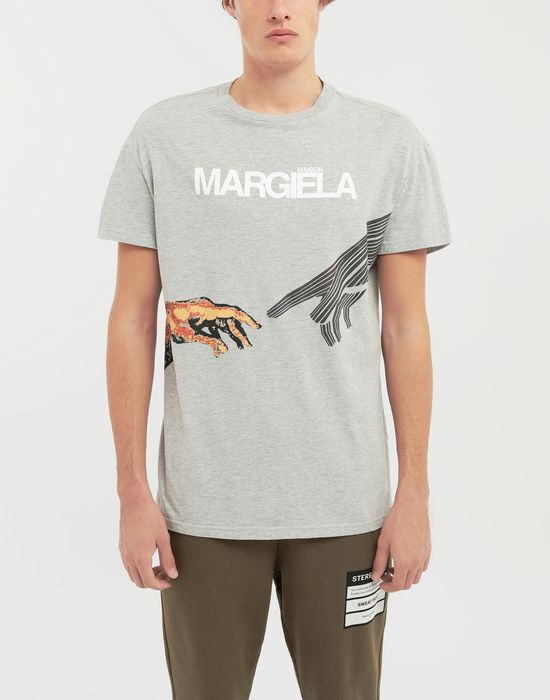 MAISON MARGIELA グラフィック ロゴ プリント Tシャツ T シャツ [*** pickupInStoreShippingNotGuaranteed_info ***] r