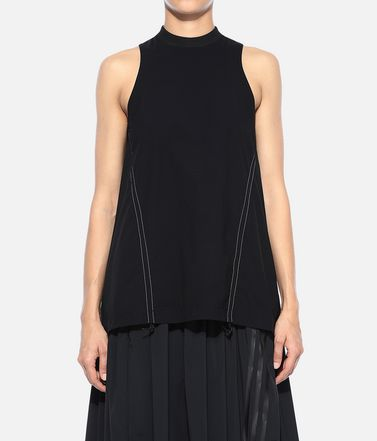 Y-3 Top Woman Y-3 Light 3-Stripes Tank Top r