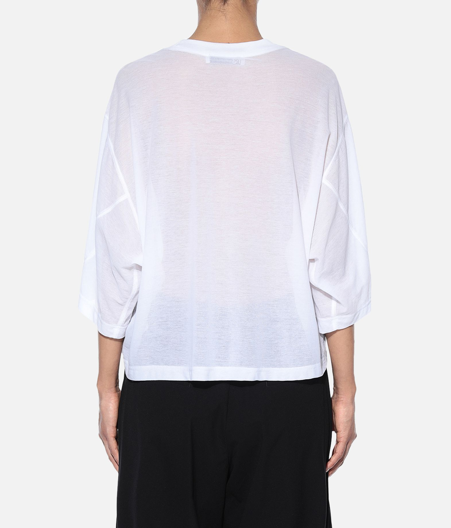 Y-3 Y-3 Yohji Love Sheer Tee Short sleeve t-shirt Woman d