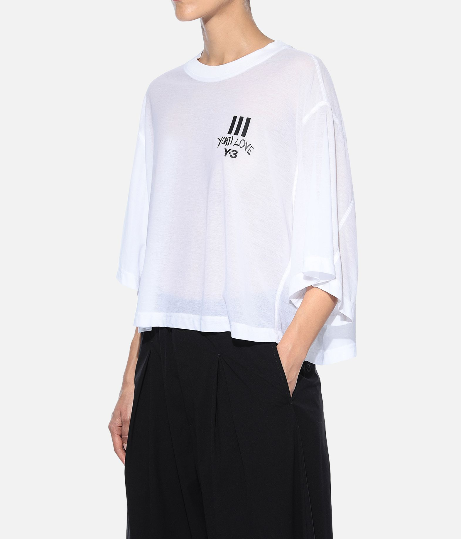 Y-3 Y-3 Yohji Love Sheer Tee Short sleeve t-shirt Woman e