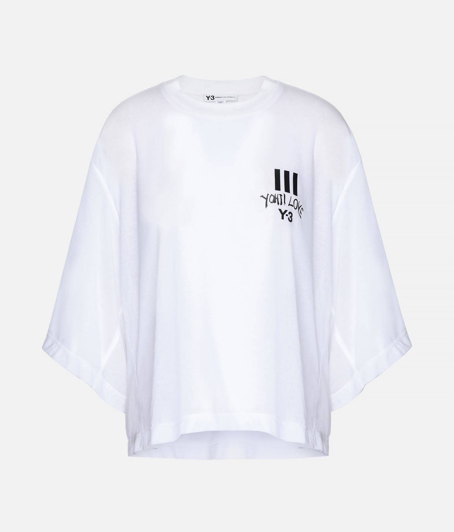 Y-3 Y-3 Yohji Love Sheer Tee Short sleeve t-shirt Woman f