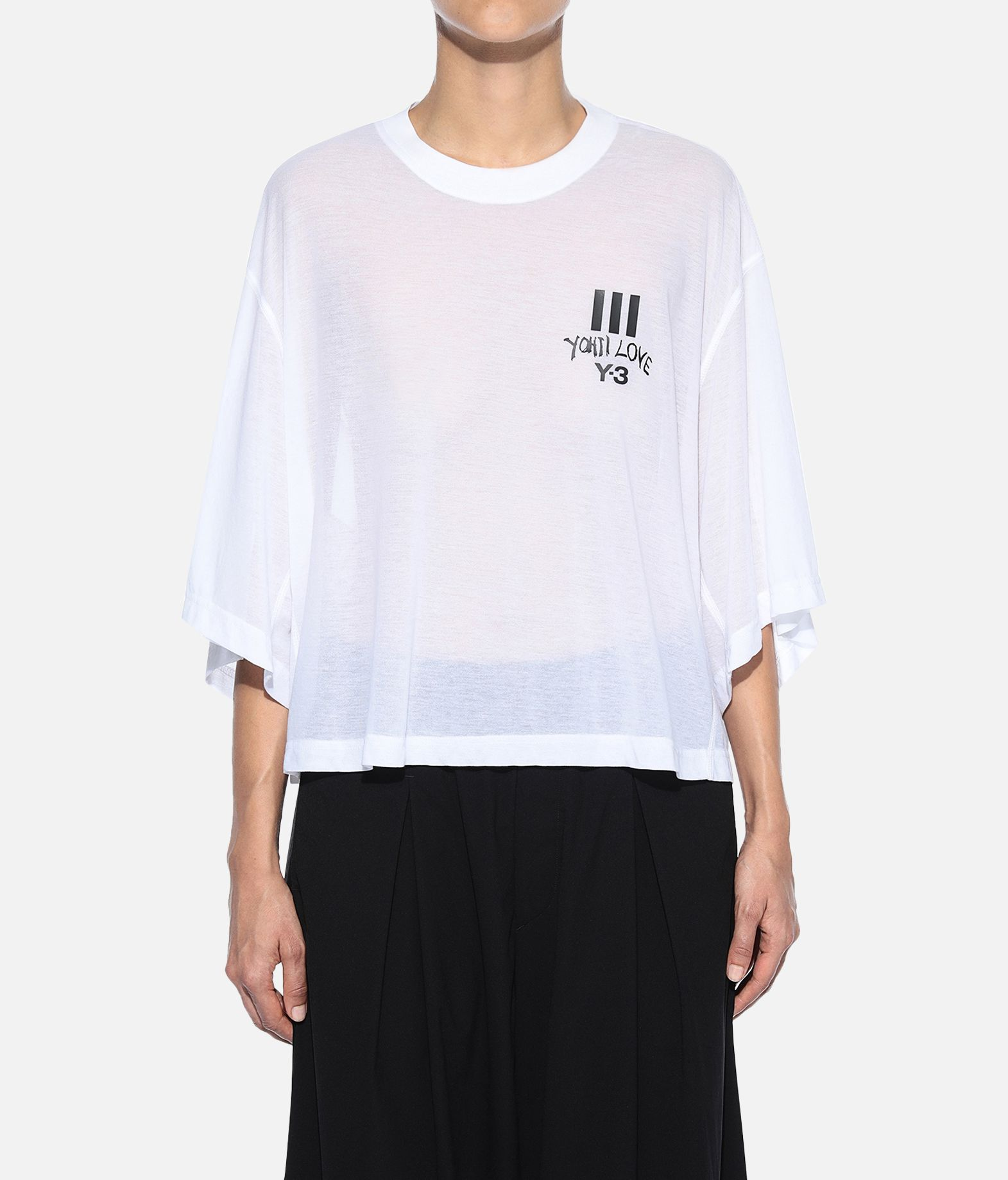 Y-3 Y-3 Yohji Love Sheer Tee Short sleeve t-shirt Woman r