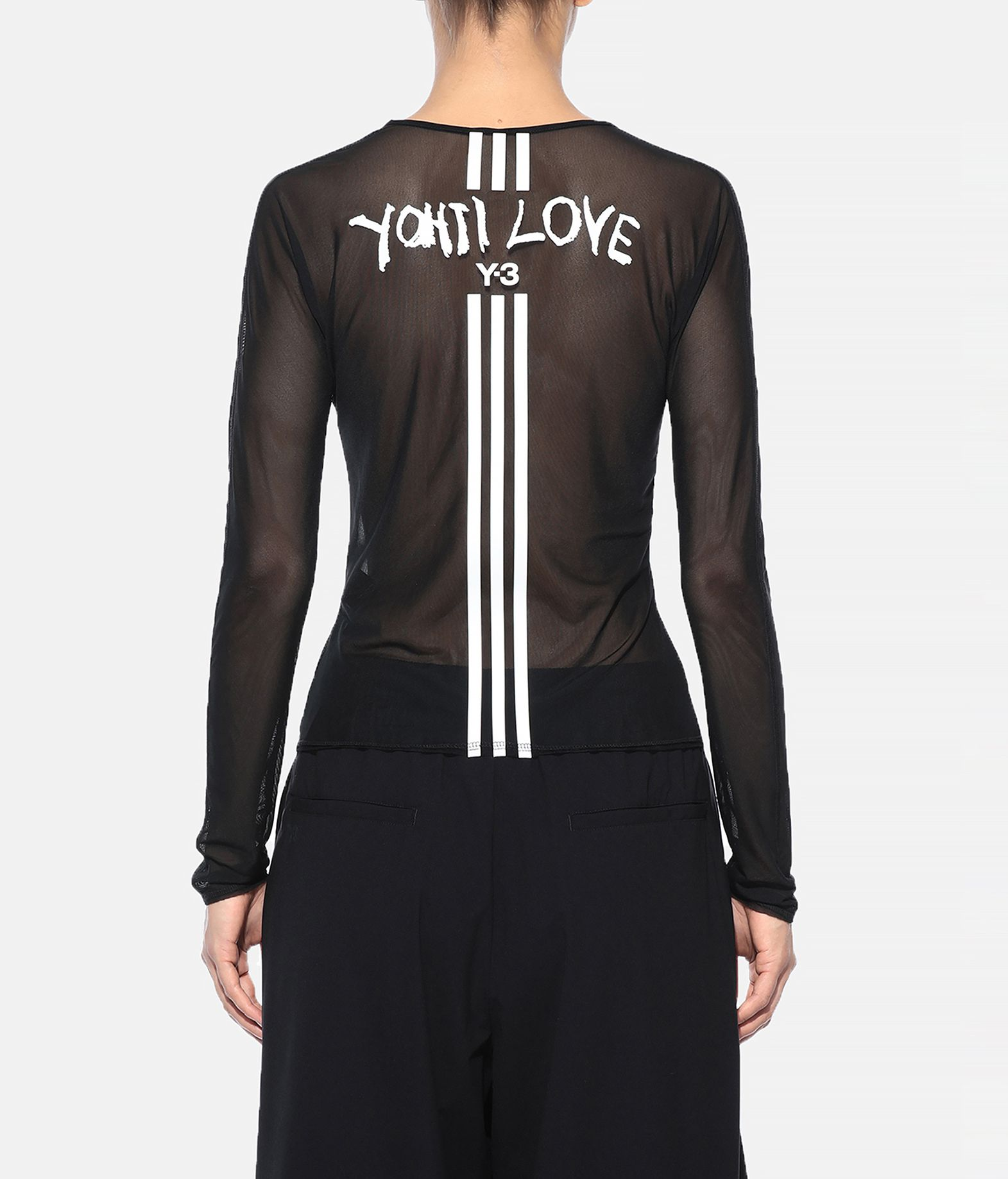 Y-3 Y-3 Yohji Love Mesh Tee Top Woman d