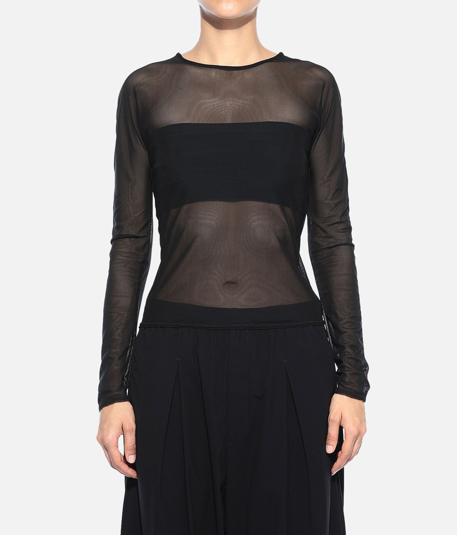 Y-3 Y-3 Yohji Love Mesh Tee Top Woman r