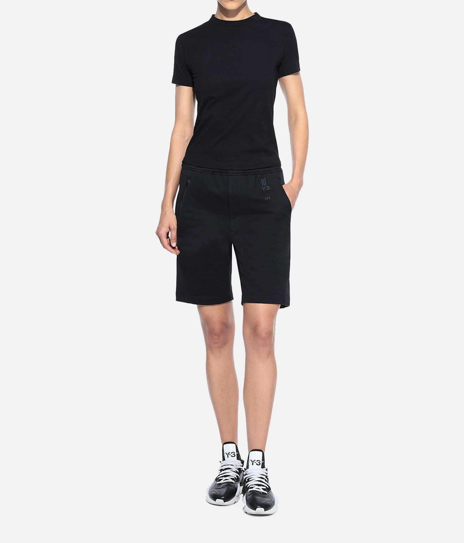 Y-3 Y-3 Yohji Love Tubular Tee Short sleeve t-shirt Woman a
