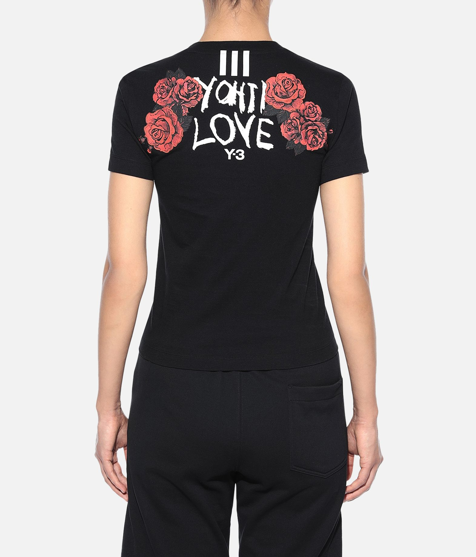 Y-3 Y-3 Yohji Love Tubular Tee Kurzärmliges T-shirt Damen d