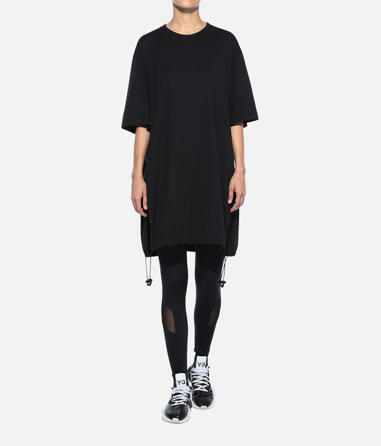 Y-3 Y-3 Drawstring Long Tee Short sleeve t-shirt Woman a