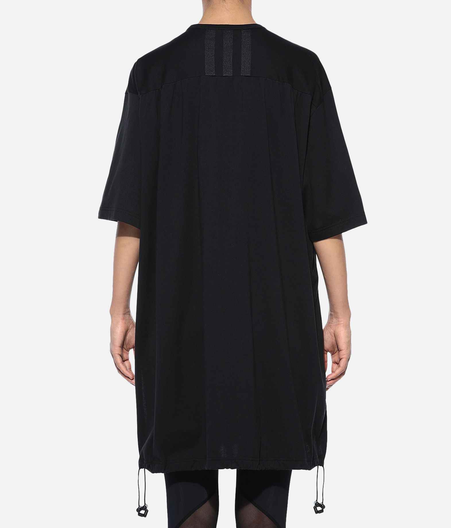 Y-3 Y-3 Drawstring Long Tee Kurzärmliges T-shirt Damen d