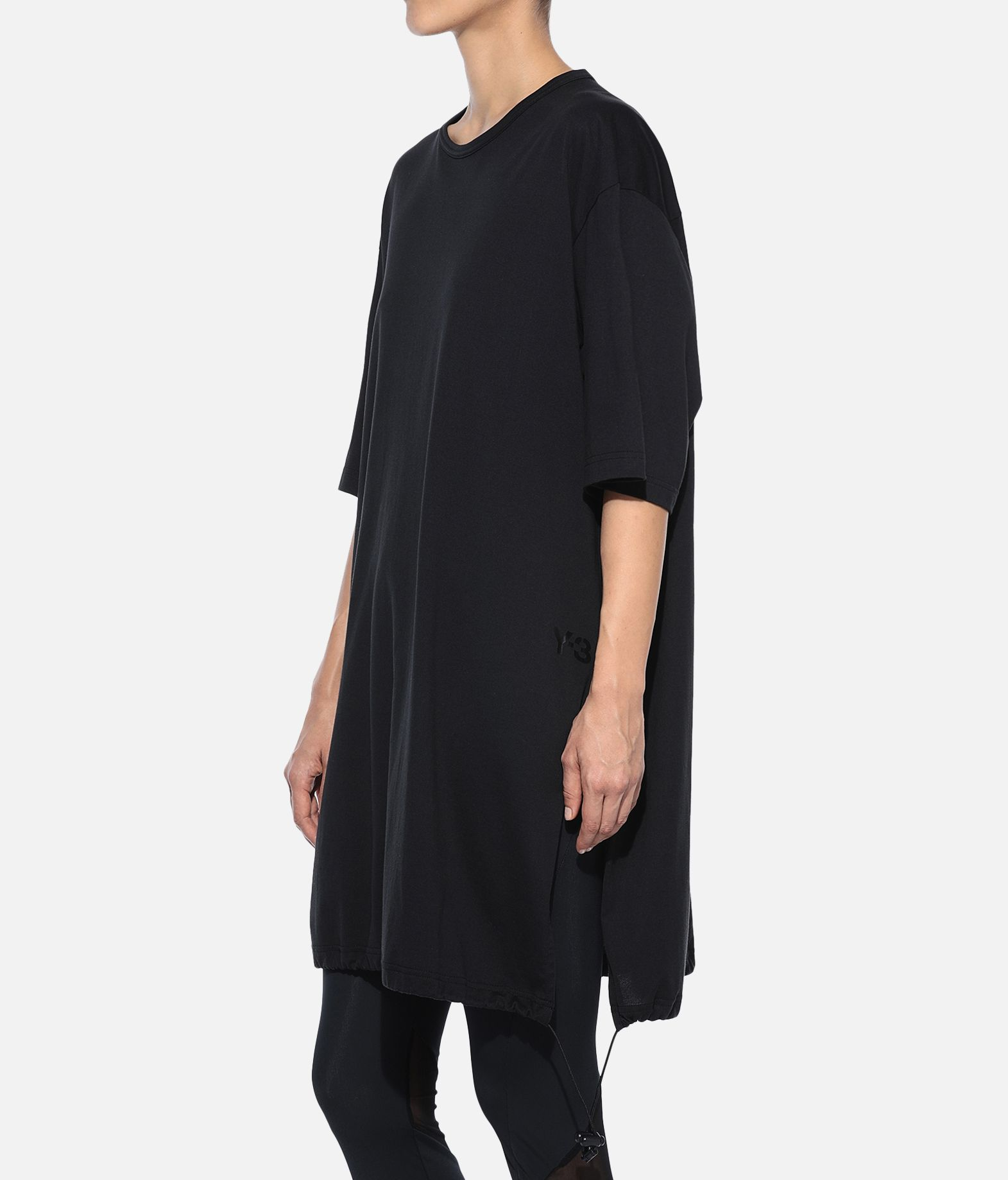 Y-3 Y-3 Drawstring Long Tee Kurzärmliges T-shirt Damen e