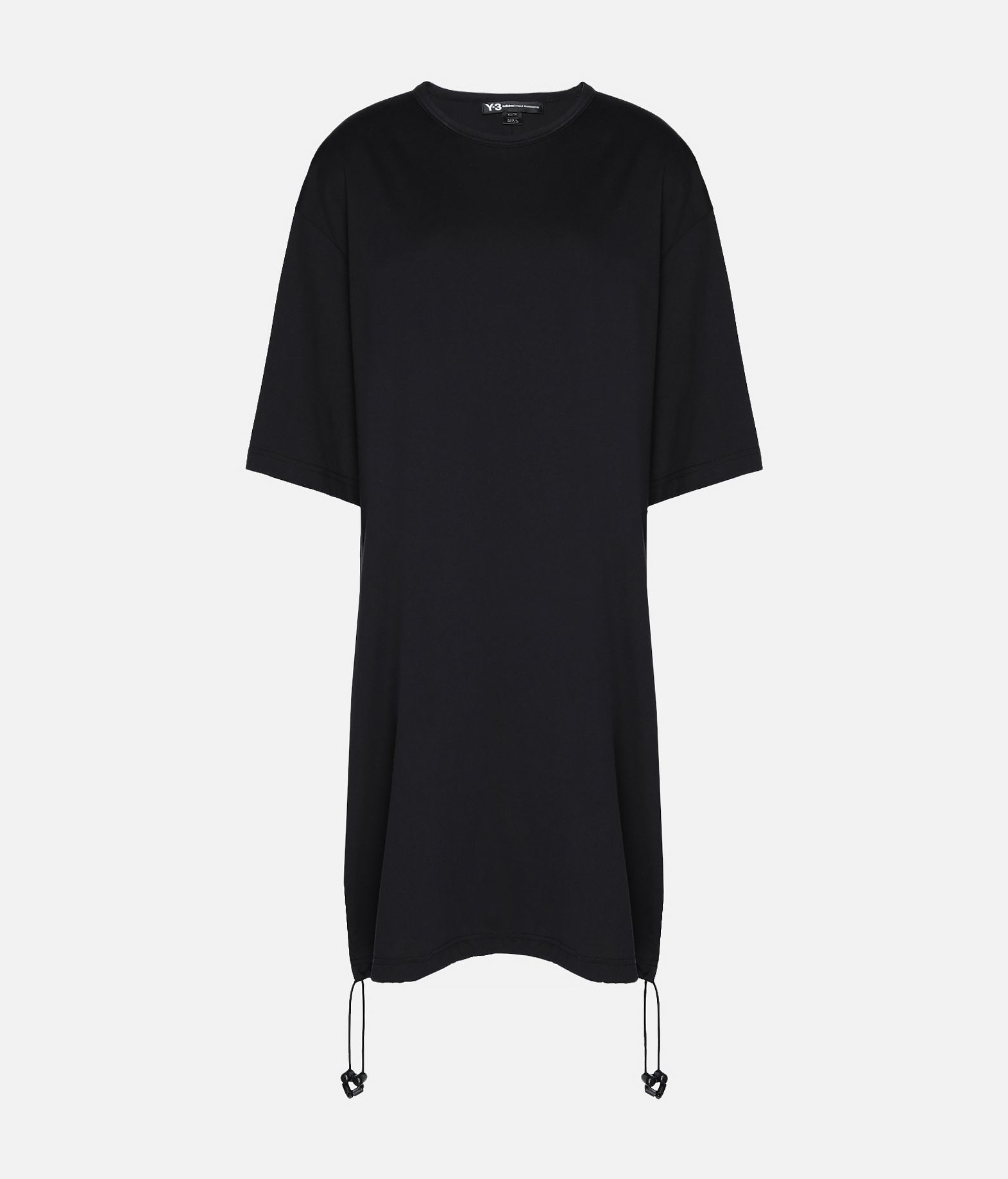 Y-3 Y-3 Drawstring Long Tee Kurzärmliges T-shirt Damen f