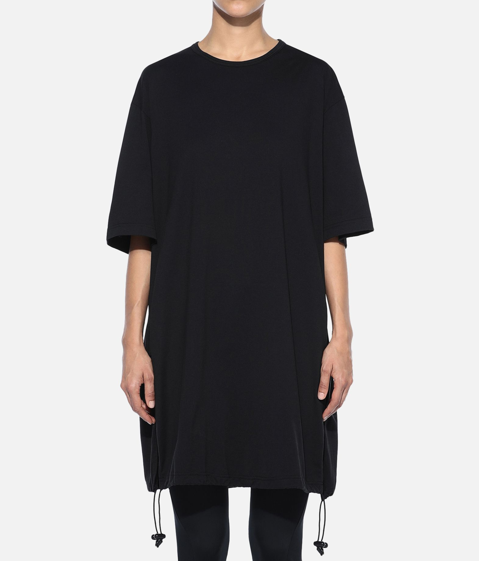 Y-3 Y-3 Drawstring Long Tee Kurzärmliges T-shirt Damen r