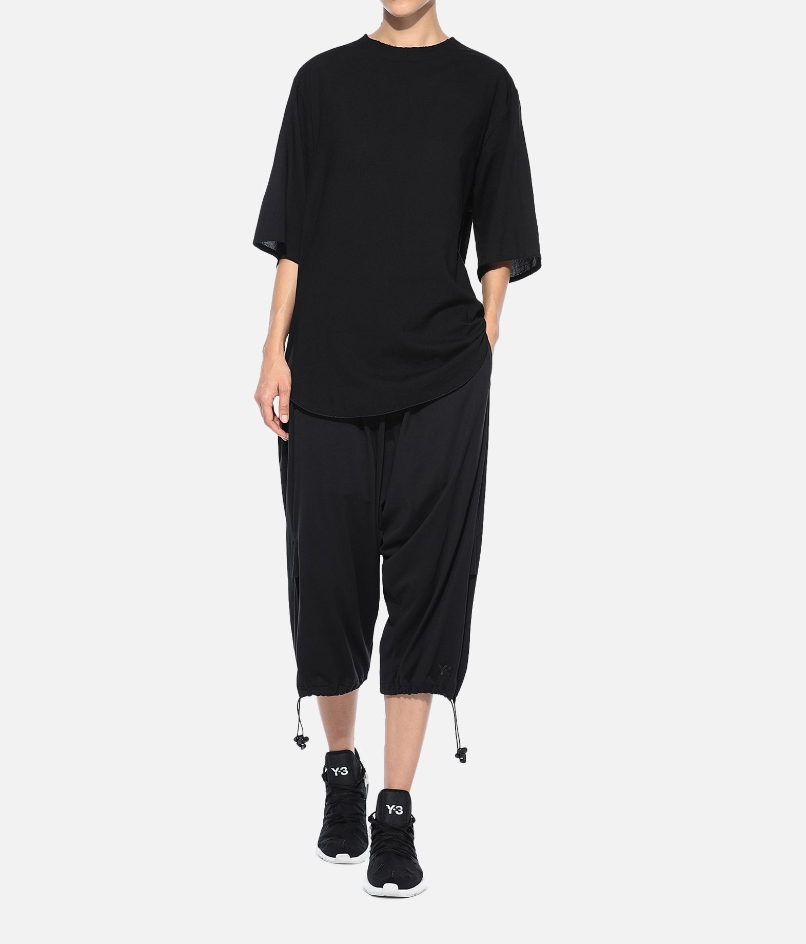 Y-3 Y-3 Long Tee Short sleeve t-shirt Woman a