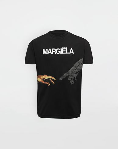 MAISON MARGIELA Short sleeve t-shirt [*** pickupInStoreShippingNotGuaranteed_info ***] Graphic logo print T-shirt f