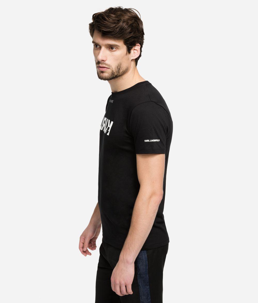 KARL LAGERFELD Reverse Logo T-Shirt T-shirt Man d