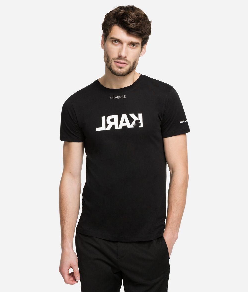 KARL LAGERFELD Reverse Logo T-Shirt T-shirt Man f