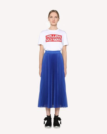 "REDValentino ""Follow Me Now"" printed  T-shirt"